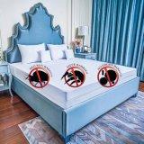 100% TPUのコーティングが付いている防水ジャージーの綿のベッドのマットレスの上層