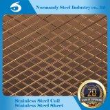 ASTM 202 geprägtes Edelstahl-Blatt mit verschiedenen Mustern