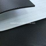 熱い販売2mmの黒ダイヤのプロフィールパターンPVC/PUコンベヤーベルト