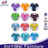 Novas candeeiras de organza de muitas cores para cadeiras (XYM-S25)