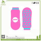 Peúgas feitas sob encomenda Non-Slip populares do Trampoline da alta qualidade