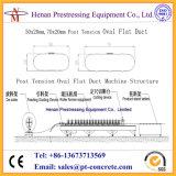 Máquina oval do duto da tensão do borne para 50X20mm, 70X20mm, 90X20mm, duto liso de 100X20mm