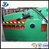(Unir a parte superior) tesoura automática do Rebar da tesoura hidráulica da sucata de metal do jacaré Q43 para o metal
