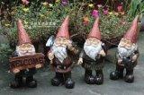Polyresin/Figurine Gnome украшения сада смолаы