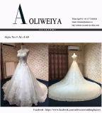 Rhinestone de cristal da venda quente ao ar livre/vestido casamento de Salão