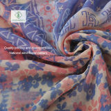 Voile Scarves Multicolor Cotton方法女性花によって印刷されるスカーフの工場