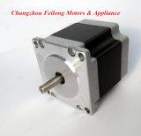 Motor eléctrico de pasos de 0.9 grados 57 Bygh para el CNC y las máquinas de coser