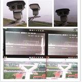 лазер 15W PTZ внедрения 2km сверхмощный с объективом 2.0MP 305mm