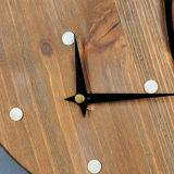 動物の形の木板の柱時計