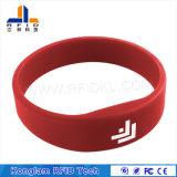 Wristband impermeabile del silicone del tondo RFID per le piscine