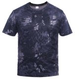 Baumwollpigment-Druck Camo T-Shirt 100%