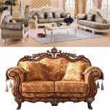 Sofà domestico con i Governi di legno per la mobilia del salone (929N)