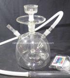 De Waterpijp van het Glas van de Slang van het silicone met LEIDEN Licht