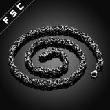 24inの方法ステンレス鋼人のためのパンク様式の鎖のネックレス