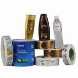 Etiqueta autoadhesiva auta-adhesivo de la venta de la alta calidad caliente de la impresión para el conjunto del champú