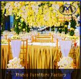 최신 판매 고품질 호텔 가구 금속 Chiavari 결혼식 의자