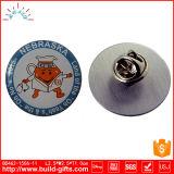 Distintivo su ordinazione di Pin del metallo con stampa ed epossidico