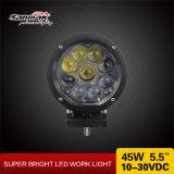 최신 라운드 45W 크리 사람 LED 모는 빛 LED 작동 빛