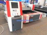 machine de découpage de laser de fibre de 1500W Ipg avec le Tableau simple