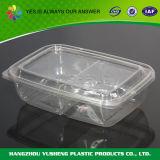 Прикрепленный на петлях контейнер упаковки плодоовощ крышки пластичный