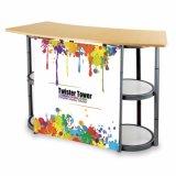 Global Shop Aluminium Folding Promotion Counter Table à vendre