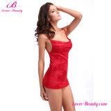 Романтичный короткий красный Nightwear