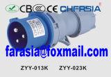 plugue industrial do soquete de potência de 3p 6h IP44 com Ce