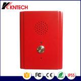 El teléfono sin manos Knzd-13 del alto del vándalo teléfono de la resistencia escoge telecomunicaciones del botón