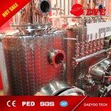 Vodka, whisky, brandy, todavía equipo de la destilación del cobre de la destilería del ron para la venta