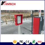 Cadre d'appel au secours du panneau Knzd-45 de bouton de Bell d'intercom de porte d'IP