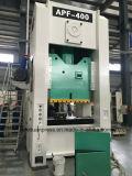 Sola prensa de potencia inestable lateral recta 400 toneladas con el embrague seco italiano de Ompi, protector hidráulico de la sobrecarga de Japón Showa