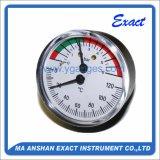 Thermo-Manomètre, type de dos central, mesure de la Manomètre-Température