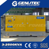 침묵하는 600kw 750kVA Cummine 엔진 디젤 엔진 발전기 세트 (GPC750S)