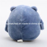 A mascote animal do luxuoso traja o brinquedo para o presente da promoção dos miúdos