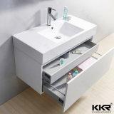 Bacia de lavagem acrílica de superfície contínua dos mercadorias sanitários Home Prefab da mobília