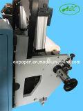 Máquina que raja del papel termal
