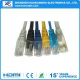 Cable de LAN del precio bajo CCA/Bc UTP Cat5e/Cat 6 de la alta calidad