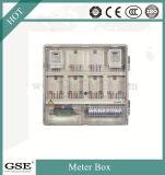Caixa de medição de energia monofásica pré-paga / caixa de medidor elétrico com material para PC
