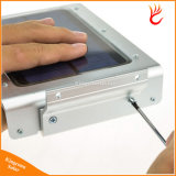 46 СИД солнечный свет с датчиком движения Безопасность ламп Ultra Thin IP65 водонепроницаемым 450 люменов для сада Открытый Путь освещения