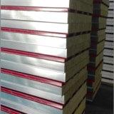 Altamente painel de sanduíche de aço de lãs de rocha da cor de Quliaty com ISO9001