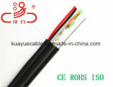 Cavo dell'audio del connettore di cavo di comunicazione del cavo di collegare del collegare di goccia 4X2X0.5cu+1.2steel/cavo di dati