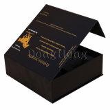 方法堅い蝶番を付けられたふたの単一のワイン・ボトル包装ボックス
