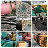 Boyau hydraulique flexible tressé de tuyau du pétrole SAE100r2-32