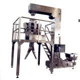 Sistema de cerco manual del embalaje con el pesador de Multihead