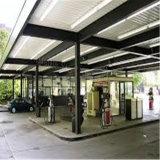 Stahlgebäude-Stahlbrennstoffaufnahme-Station mit Nizza Entwurf