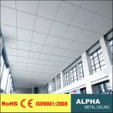 Зажим потолка металла ый алюминием в потолке плитки