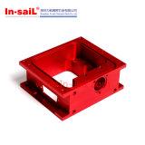精密機械で造られるカスタム赤CNCはアルミニウム部品を陽極酸化する