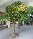 Landschaftsgestaltung des künstlichen bunten Ginkgo-Baums