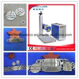 venta de aluminio plástica del plástico del acero inoxidable de Raycus de la máquina del grabador del laser de la fibra 20W