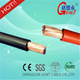 Cable auto aislado PVC eléctrico de cobre de la batería del cable del cable